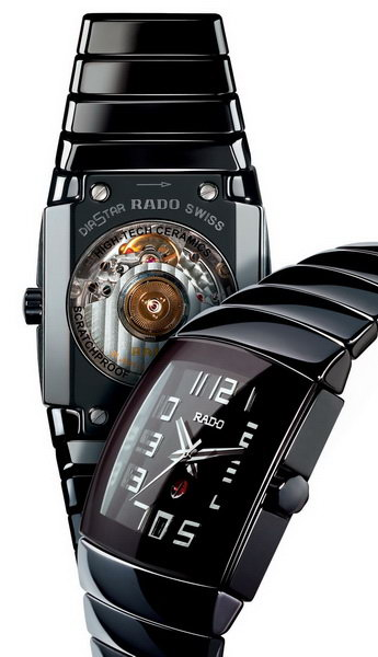 мужские часы романсон в титановом корпусе